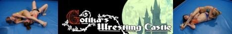 Gotika`s Wrestling Castle. Competitive female wrestling, domination